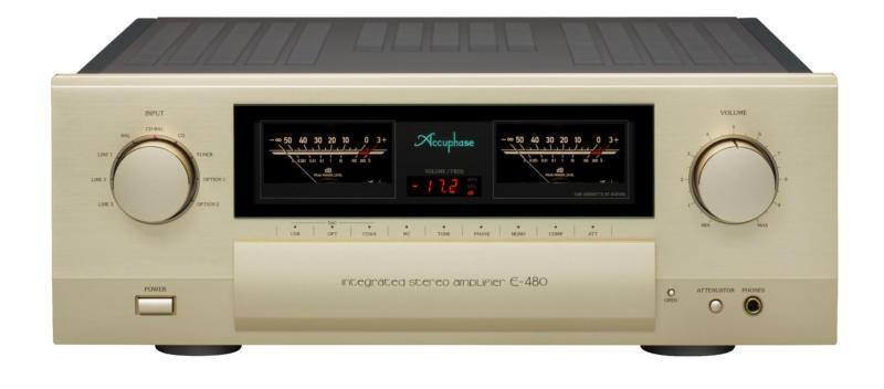 Amplificateur intégré accuphase e-480 en écoute à Paris