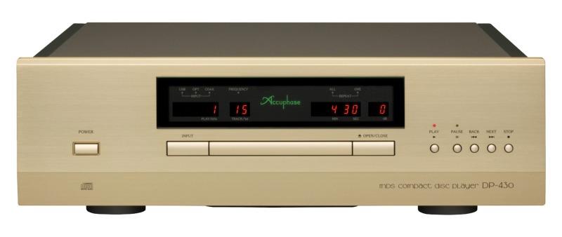 Lecteur CD audiophile accuphase DP 430 en écoute à Paris