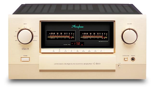 Accuphase E 800 amplificateur intégré pure classe A