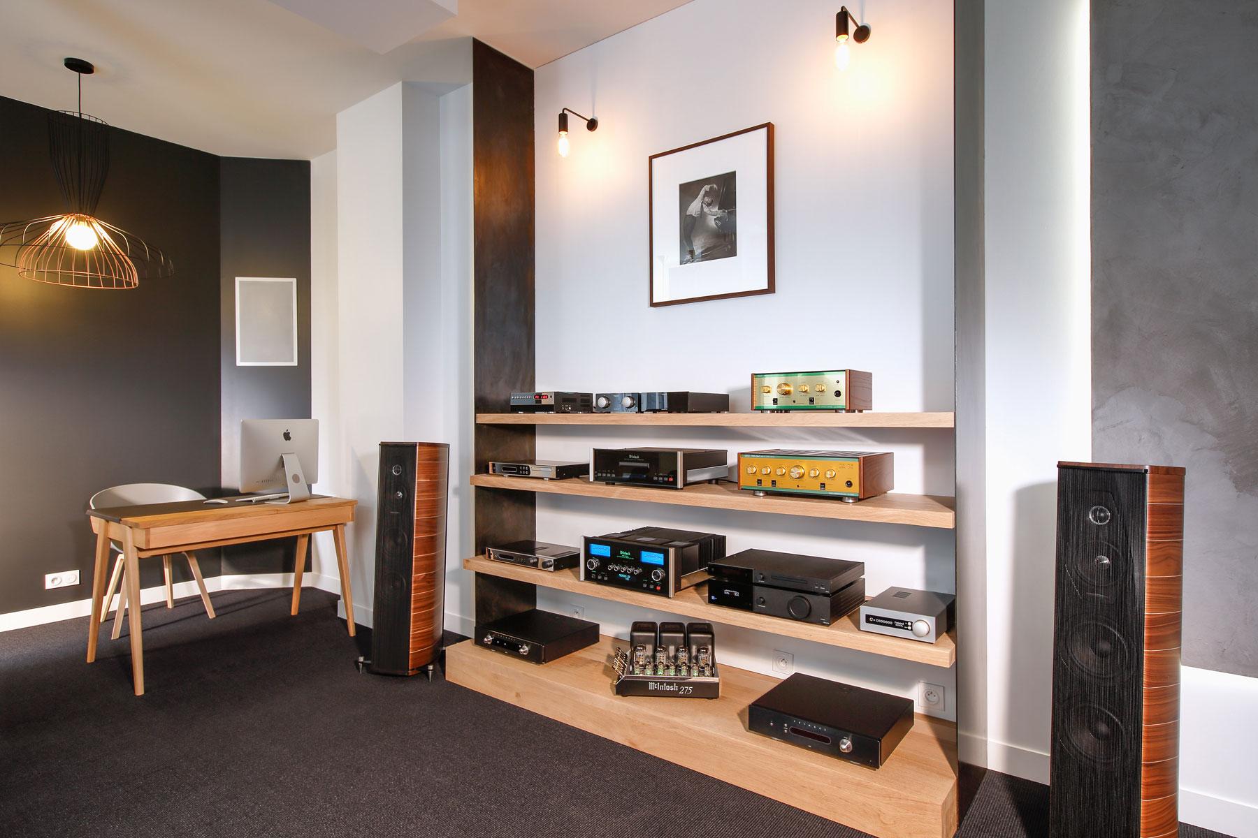 Listen & showroom - Concert home