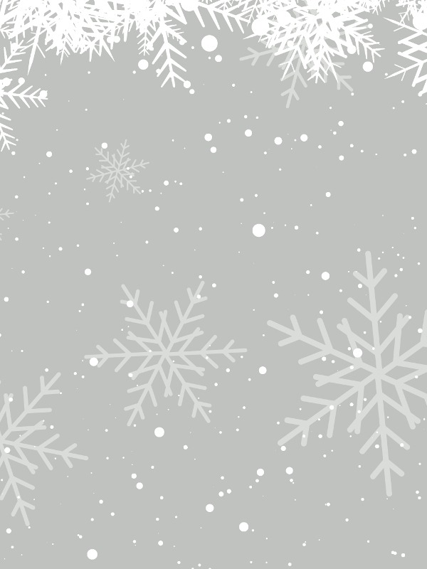 Christmas background of winter snowflakes