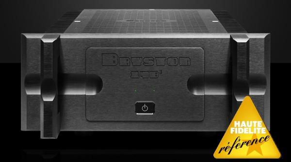 l 39 amplificateur de puissance bryston 14b en coute concert home paris. Black Bedroom Furniture Sets. Home Design Ideas