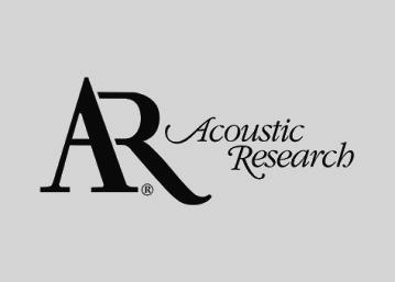 ACOUSTIC RESEARCH marques haute-fidélité