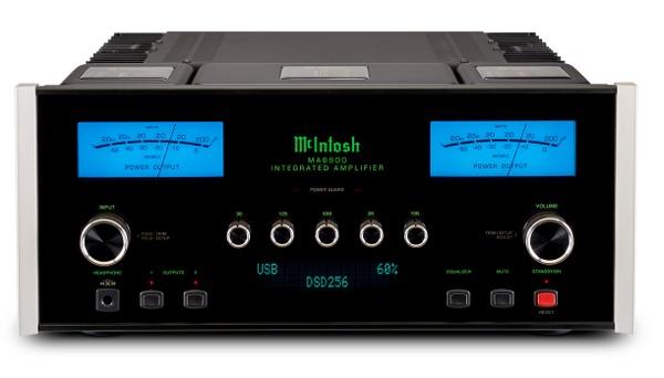Lamplificateur McIntosh MA8900, la dernière génération d'intégrés du fabricant américain