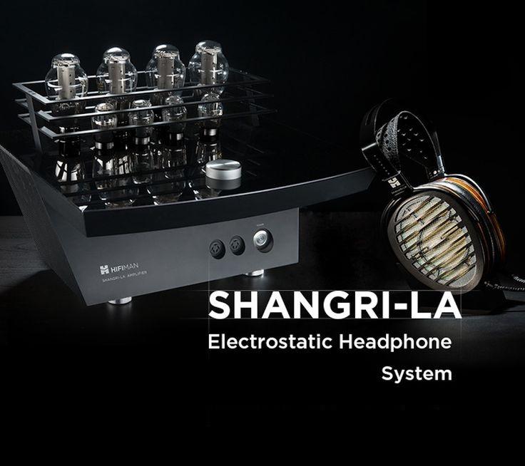 Système pour casque planaire magnétique hifiman Shangri-la