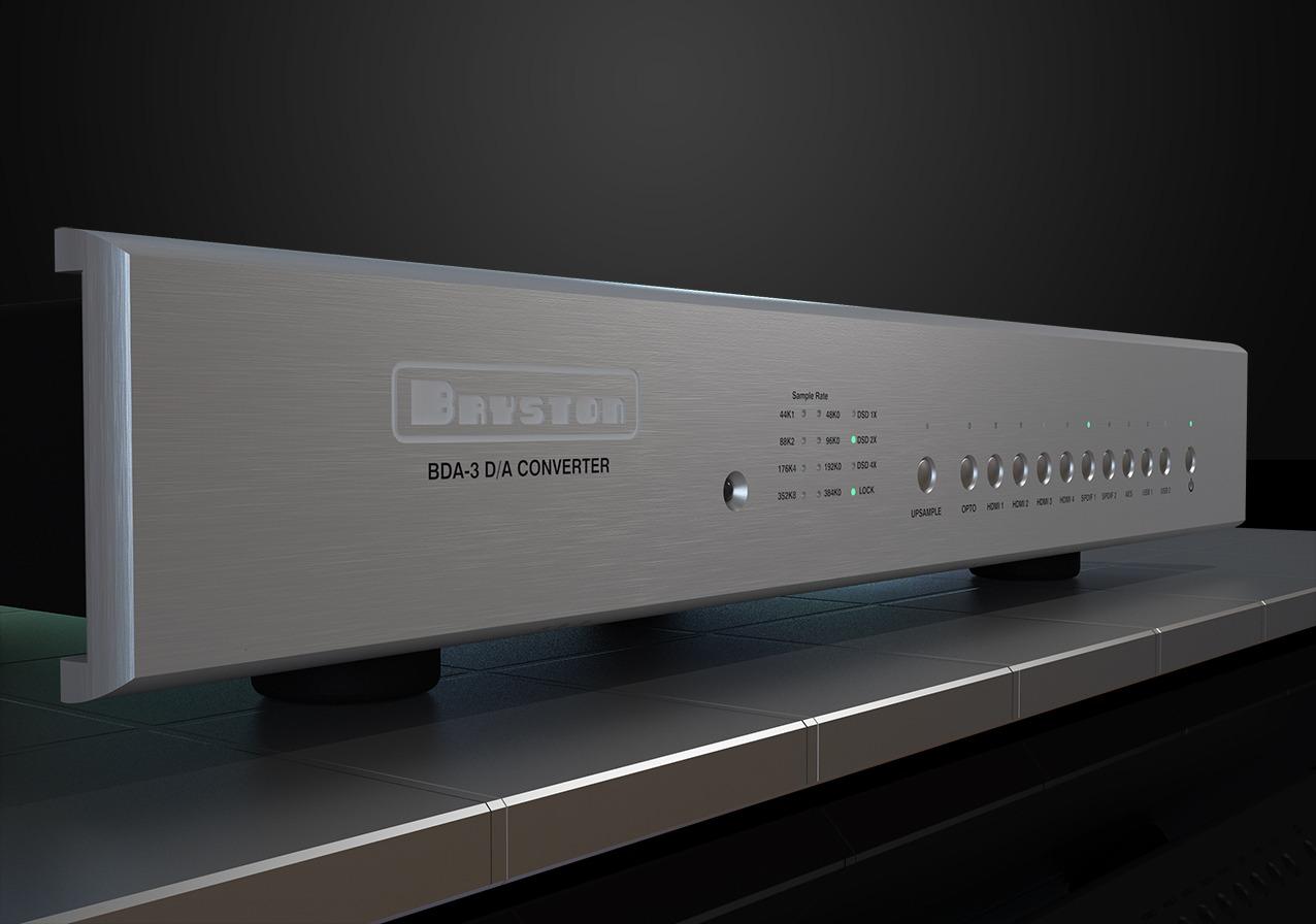 Bryston BDA-3 un DAC compatible PCM, DSD et SACD et doté d'une connectivité extensive