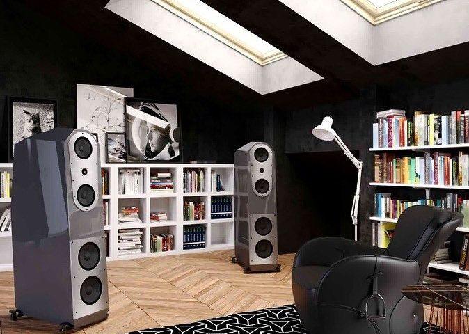 Enceintes haute-fidélité et système hifi Egglestonworks Kiva Showroom Audiophile à Paris 16