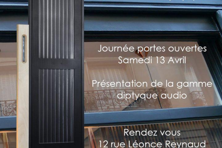 journées portes ouvertes diptyque audio présentation du panneau acoustique DP 160 AB