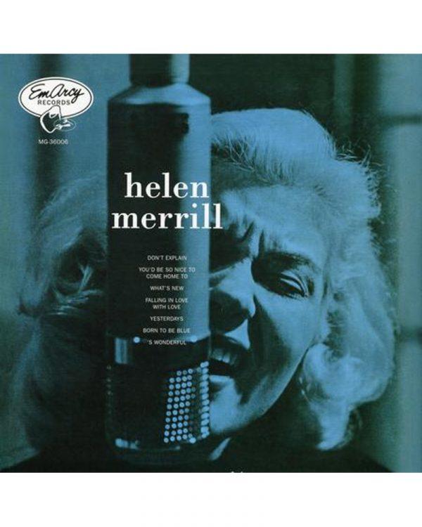pochette disque vinyle audiophile Helen Merrill