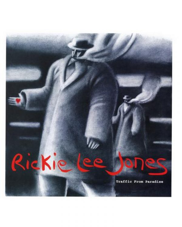 pochette disque vinyle audiophile Rickie Lee Jones Traffic from paradise