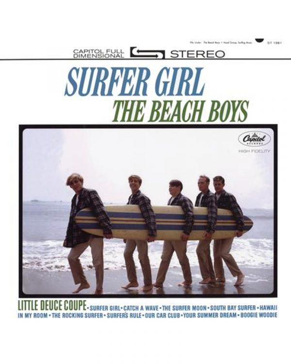 pochette disque vinyle audiophile Surfer girl the beach boys