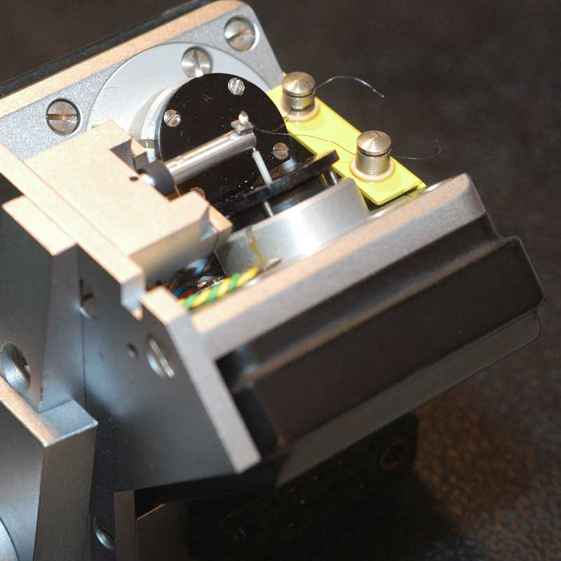 Tête de découpe analogique fabrication vinyle